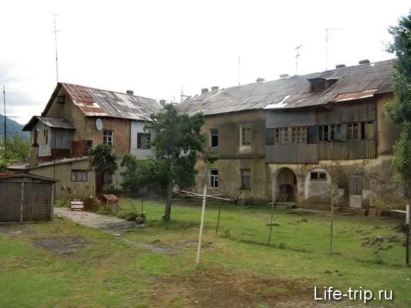 Абхазия. Домики.