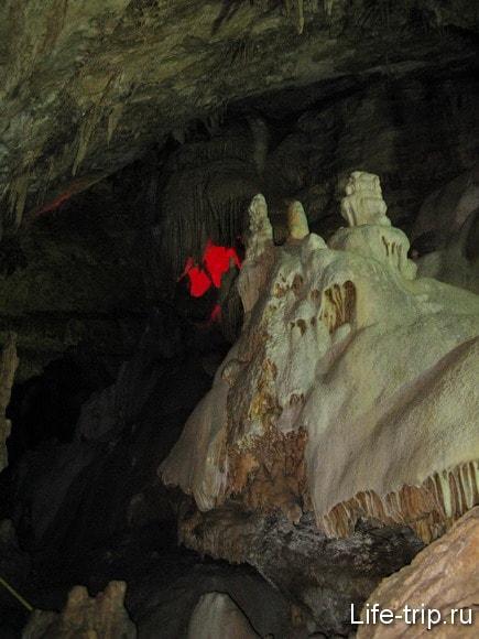 Абхазия. Новый Афон. Новоафонская пещера.