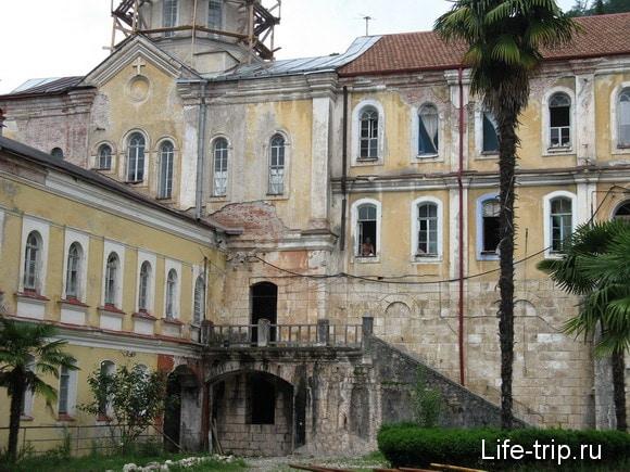Абхазия. Новый Афон. Монастырь.
