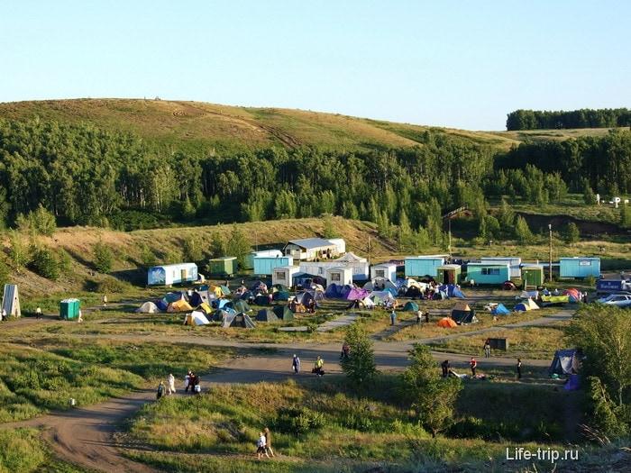 лагерь у Аркаима.