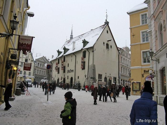 Таллинн. Старый город.