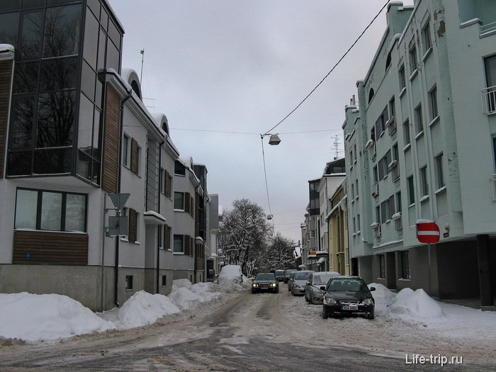 Улочки Таллина
