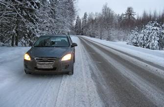 Дорога в Эстонии.