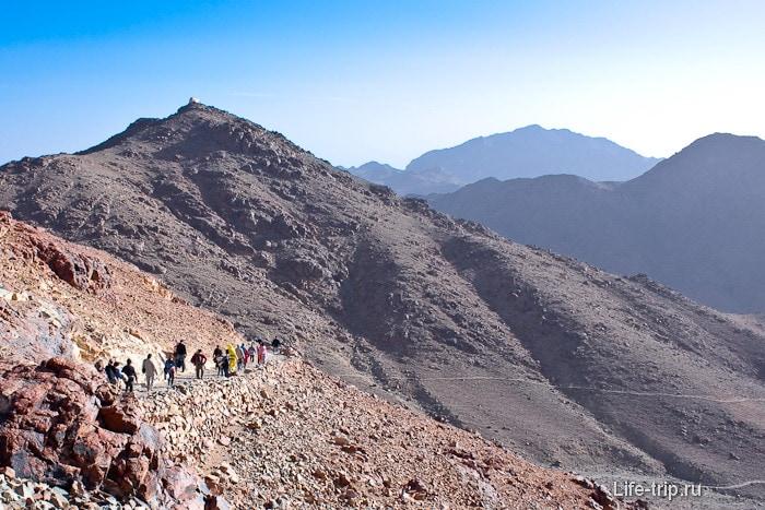Окрестности горы Моисея.