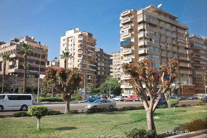 Город Каир. Египет.