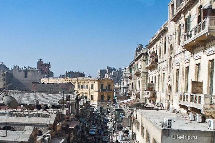 Город Каир. Улочки.