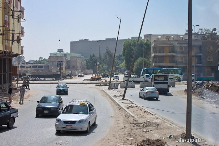Египет. Каир. Улицы.