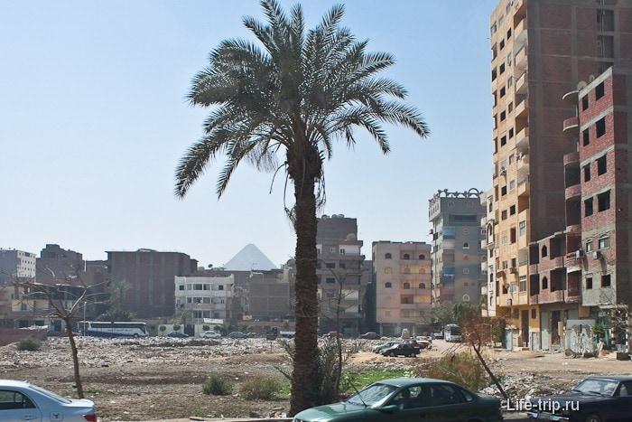 Египет. Каир. Жилой район.