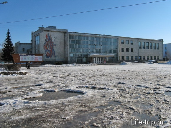 Город Мценск. Главная площадь.