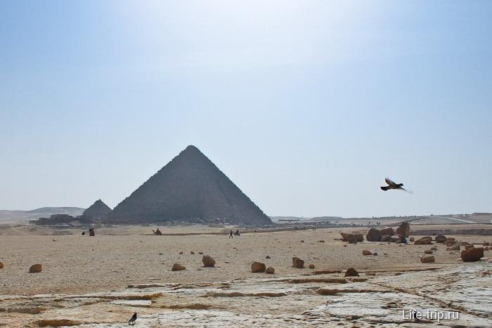 Пирамида Микерина.