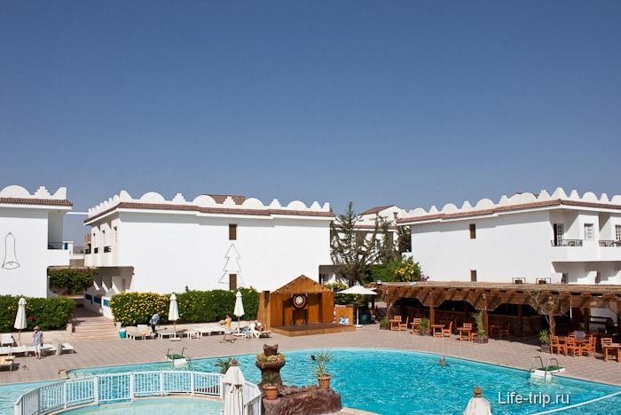 Египет. Шарм-эль-Шейх. Отель Cleopatra.