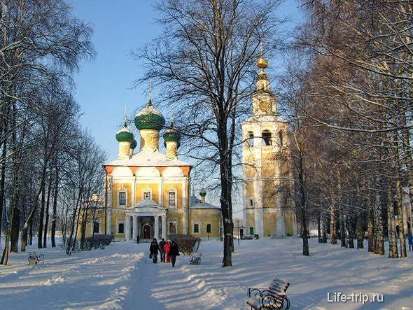 Спасо-Преображенский собор Угличского кремля.