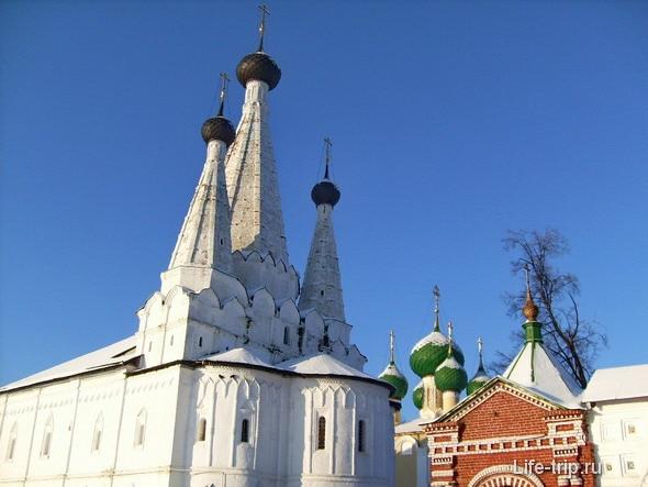Углич. Алексеевский монастырь.