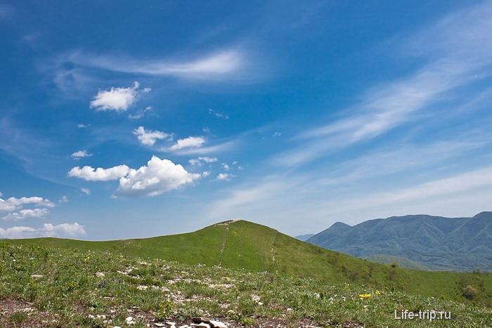 Вид с горы Шахан.