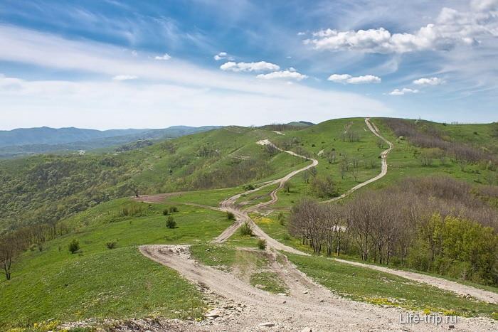 Кавказский хребет. Горы Геленджика.