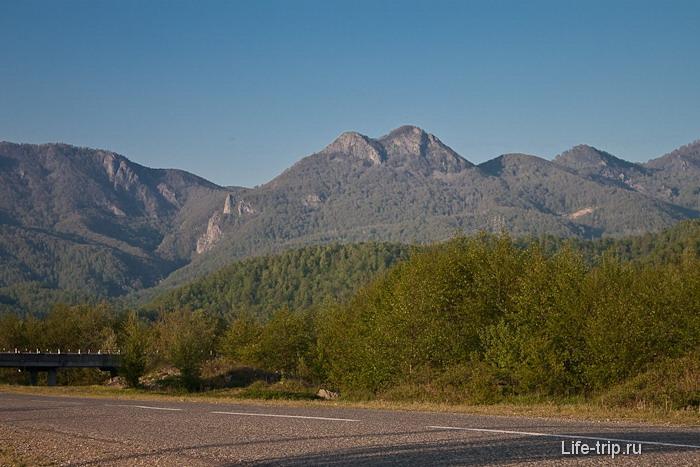 Гора Два Брата. Кавказ. Туапсинский район.