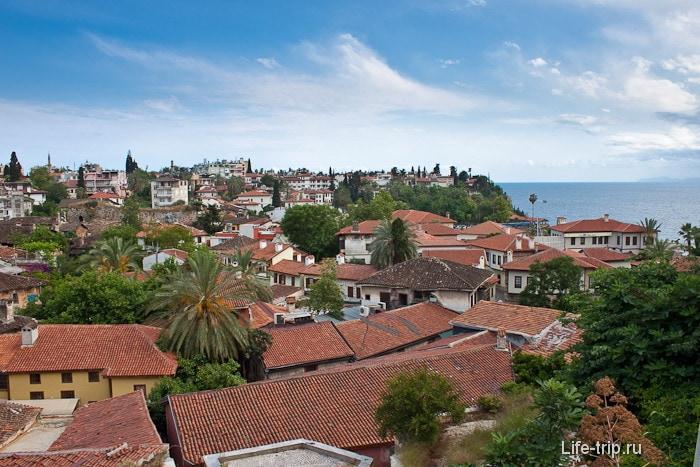 Старый город Анталия. Турция.