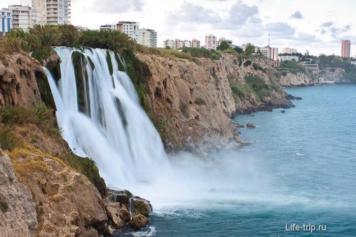 Водопад Нижний Дюден. Анталия.