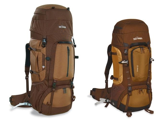 Правильные рюкзаки Tatonka 70 и 40 литров.