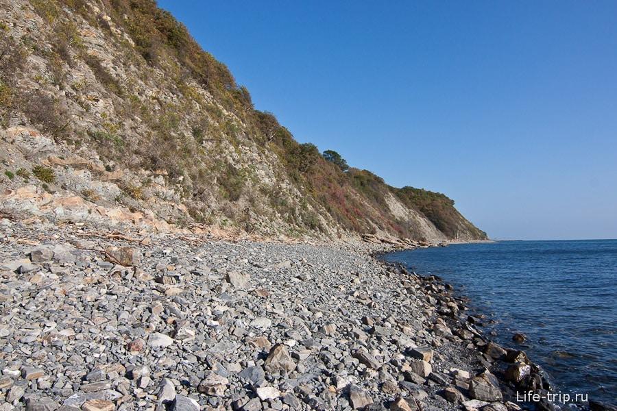 Дикий пляж Криница