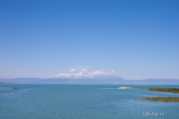 Озеро Бейшехир. Турция.