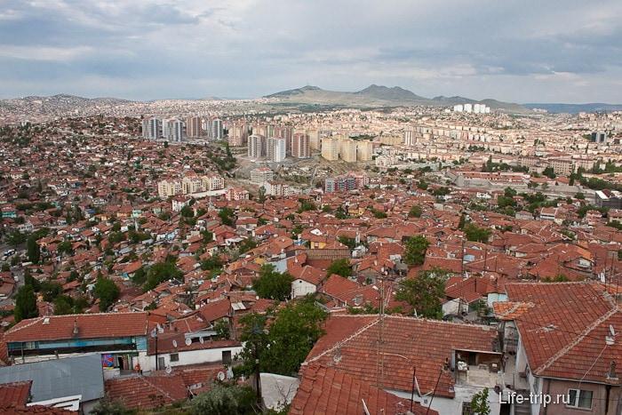 Анкара. Старый город.