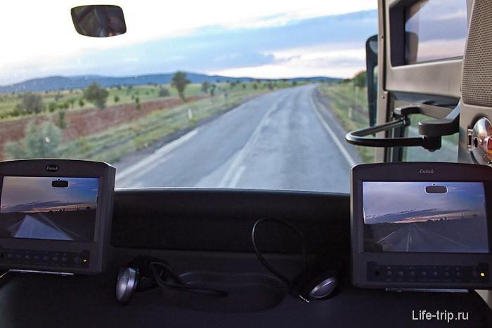 Комфортабельные автобусы в Турции.
