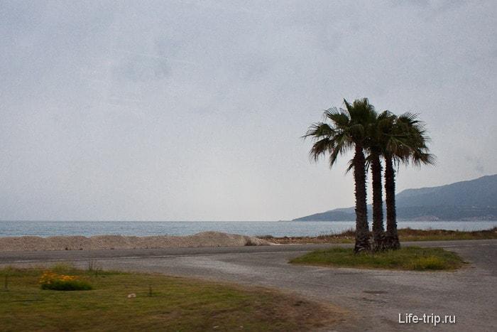 Пляжи между Кумлуджа и Финике.