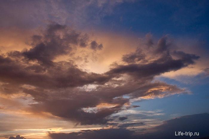 Небо над Каппадокией.
