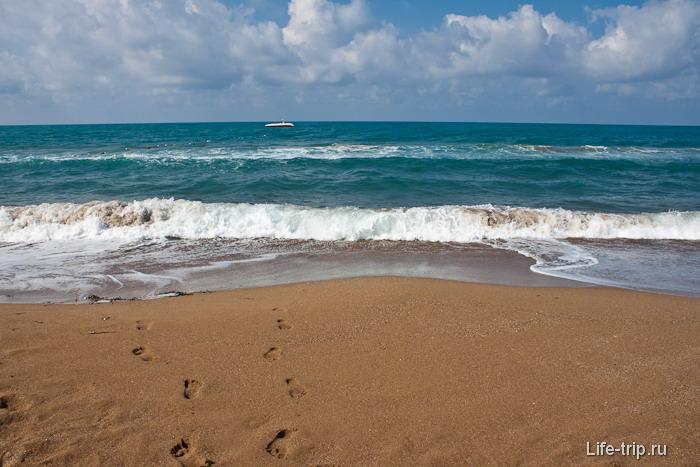 Курортная Турция. Пляжи Сиде.