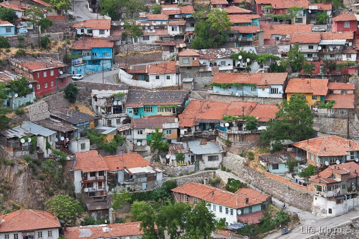 Старый город Анкары.