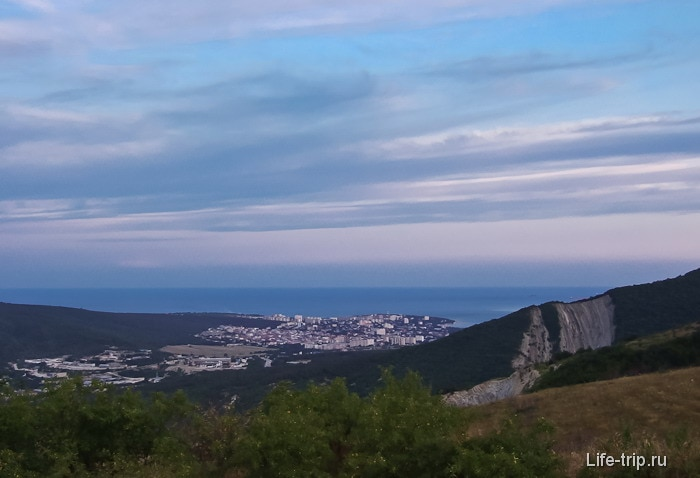Вид на бухту Геленджика.