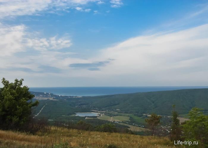 Вид на Дивноморск.