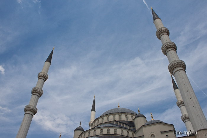 Мечеть Коджатепе в Анакаре.