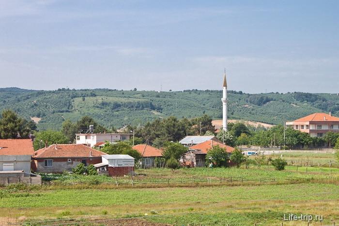 Мечеть в деревушке Карасу.