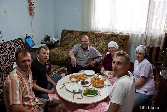 В русско-турецкой семье.
