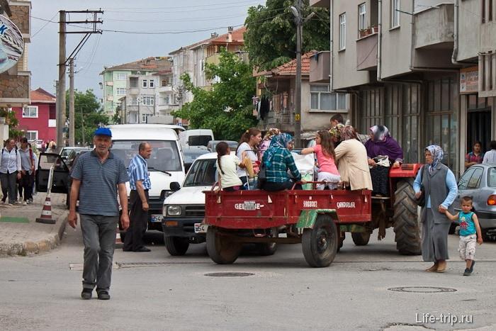 Специальный транспорт для женщин.