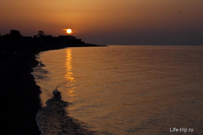 Отдых на Черном море в Турции.