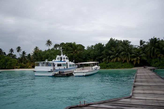 Мальдивы. Остров Курамати.