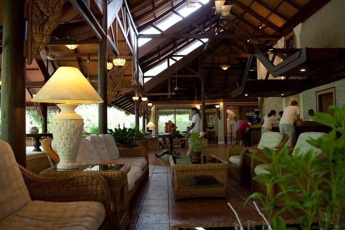 Мальдивы. Остров Курамати. Отель.