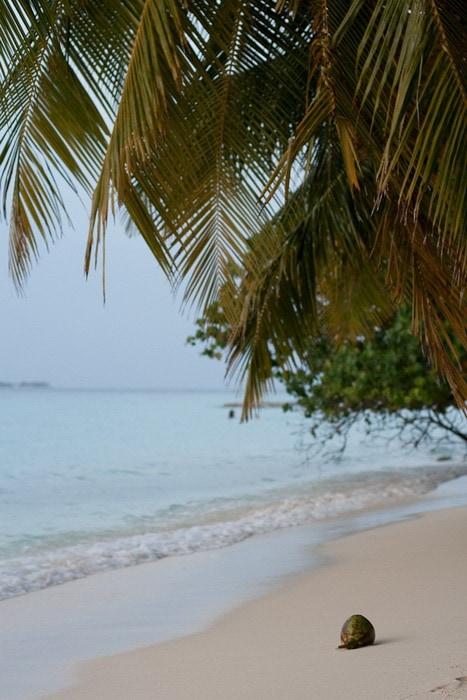 Пляж. Мальдивы.