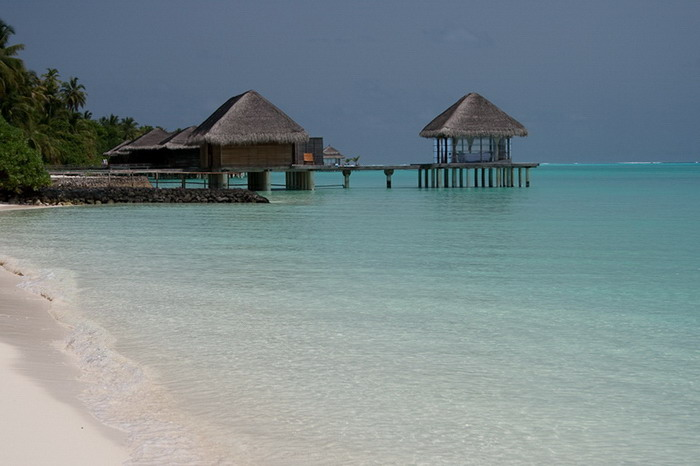 Море. Мальдивы.