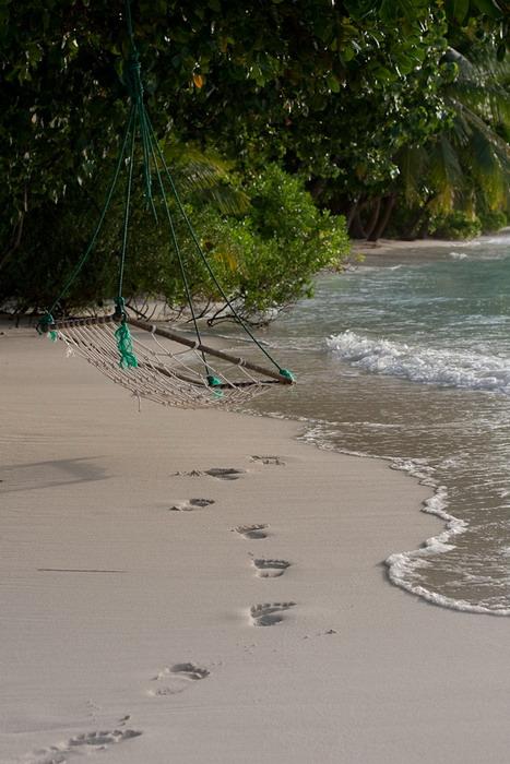 Пляж. Остров Курамати.