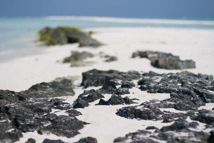 Белый песок Куромати.