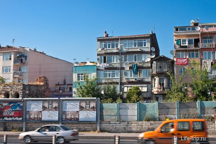 Город Стамбул. Турция.