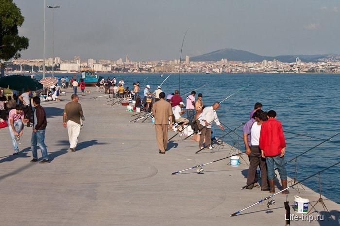 Рабочие будни Стамбула.