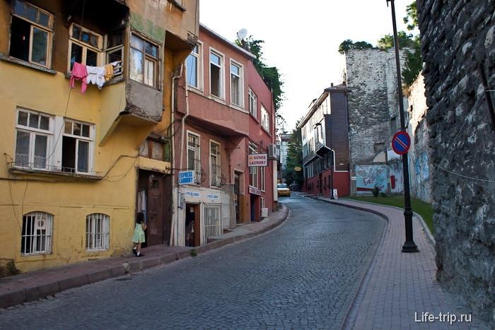 Улочки в старом городе Стамбула. Турция.