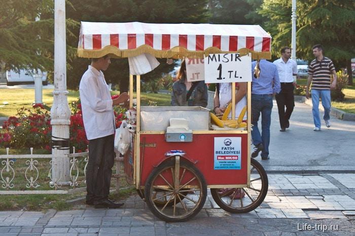 Стамбул столица кукурузы.