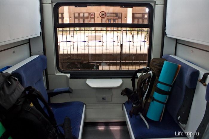 Турецкий спальный вагон.