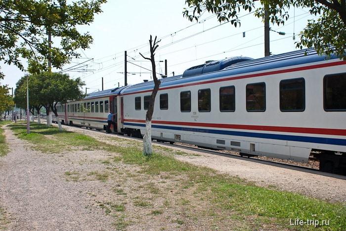 Железные дороги Турции.